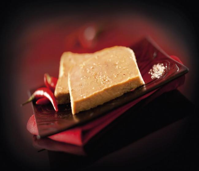 Le foie gras au piment d'Espelette