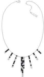 Collier chandelier Noir et blanc 199€