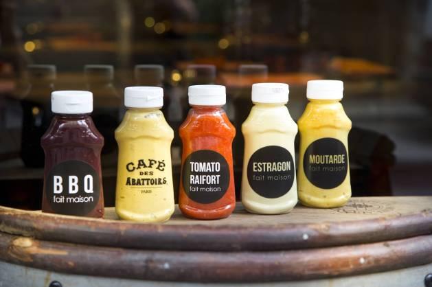 Les sauces maison du Café des Abattoirs / DR