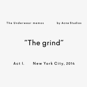 Acne Studios présente #underwearmemos, sa série de mini-films