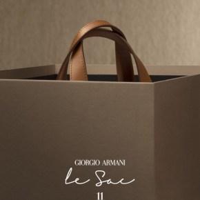 Giorgio Armani présente «le Sac 11»