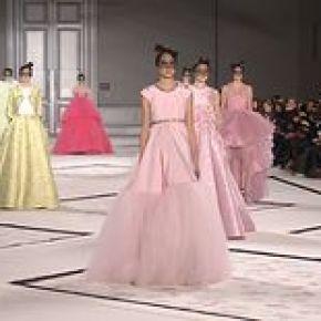 Giambattista Valli, Défilé Haute Couture, Printemps / Eté 2015, Paris, avec interview
