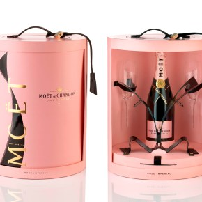 Un coffret Saint-Valentin rosé pour Moët & Chandon