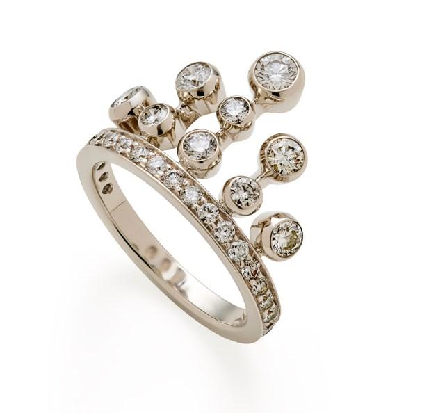 Bague Queen en or noble et diamants GM 3700Ôé¼