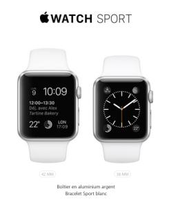 L'Apple Watch Sport - Version Sportive
