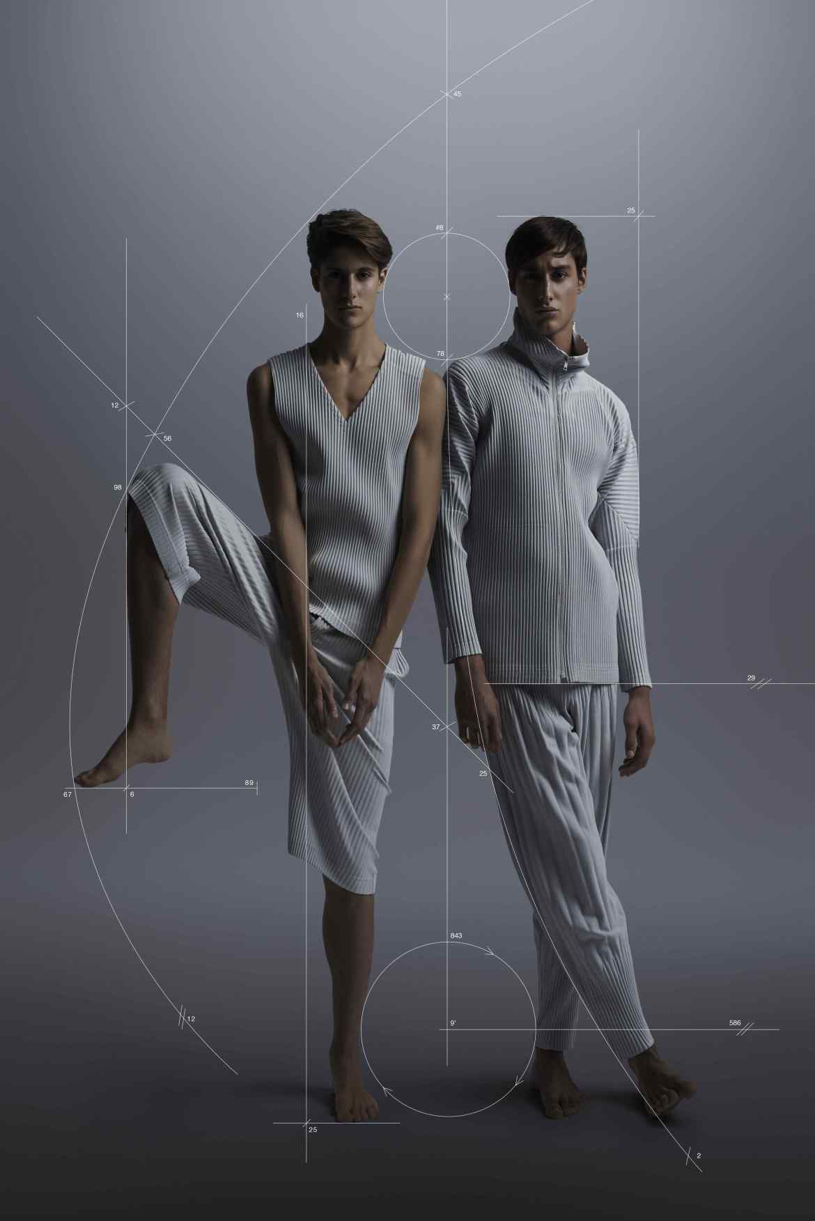 HOMME PLISSÉ ISSEY MIYAKE SS14 01