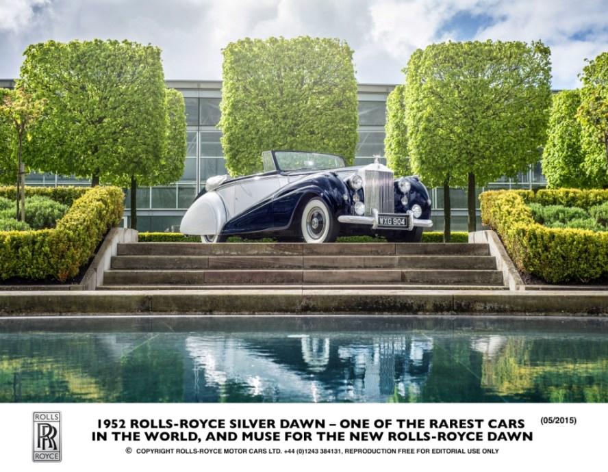 Rolls-Royce Silver Dawn, 1952
