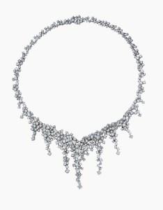 Damiani - Vulcania -white gold necklace with diamonds