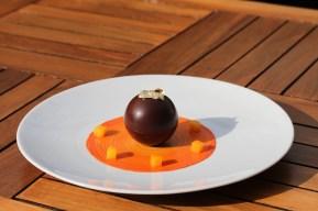 Sphère choco mangue