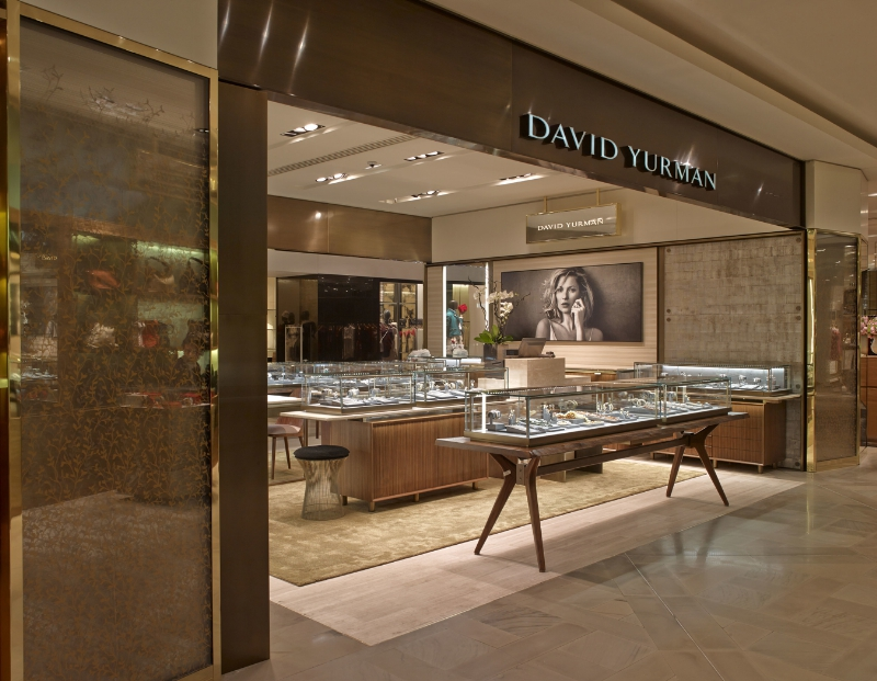 Nouvelle Boutique David Yurman aux Galeries Lafayette Credit: Marc Domage (PRNewsFoto/David Yurman)