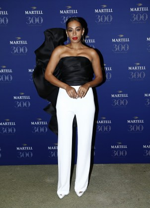 VERSAILLES, FRANCE - MAY 20: Solange Knowles is pictured arriving at Martell Cognac's 300th anniversary event at the iconic Palace of Versailles on May 20, 2015 in Versailles, France. (Photo by Julien M. Hekimian/Getty Images for Martell Cognac)