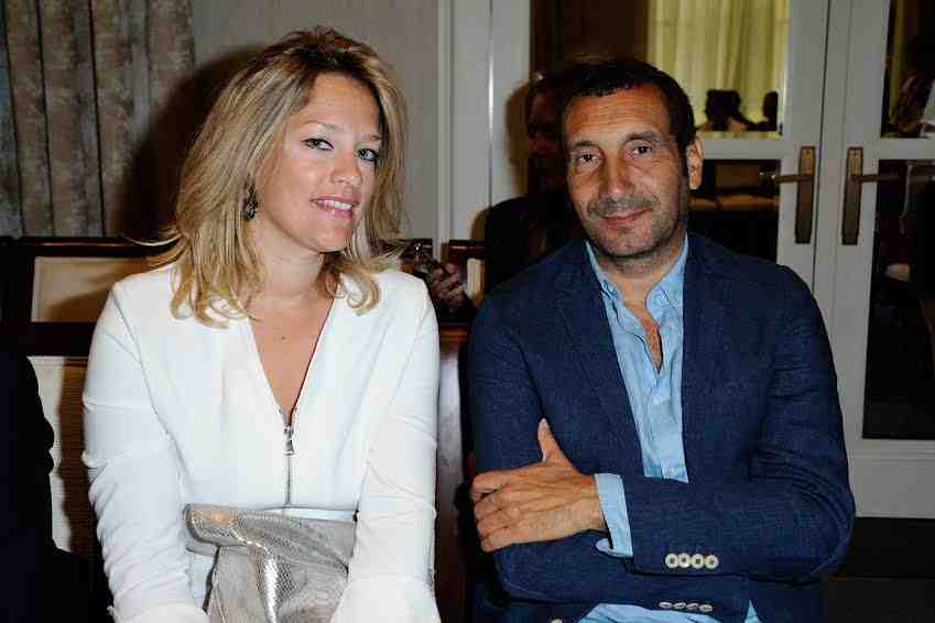 Zinedine Soualem and his wife Caroline Faindt attending the Manu Reas Haute-Couture Fall/Winter 2015/2016 collection show at the Peninsula Hotel in Paris, France, on July 8, 2015. Photo by Aurore Marechal/ABACAPRESS.COM