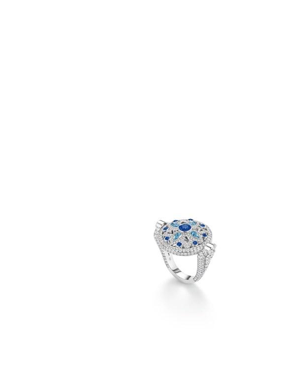 Secret Wonder Ring - Sapphire Aquamarine