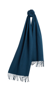 The Classic Cashmere Scarf - Marine blue