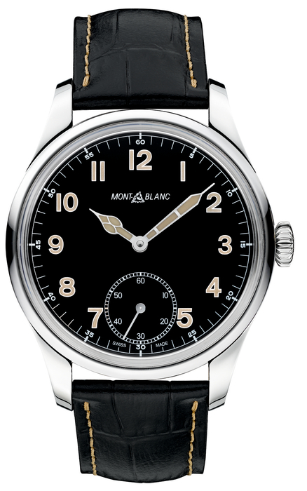 1858_113860 Montblanc 1858 Manual Small Second Limited Edition - 858 pieces