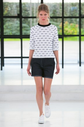 Gauchère Fashion Show, Ready to Wear Collection Spring Summer 2016 in Paris CREDIT: Gio Staiano / NOWFASHION