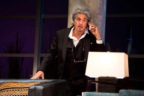 """Al Pacino in a scene from """"China Doll"""" on Broadway at the Schoenfeld Theatre. www.ChinaDollBroadway.com. Photo by Jeremy Daniel."""