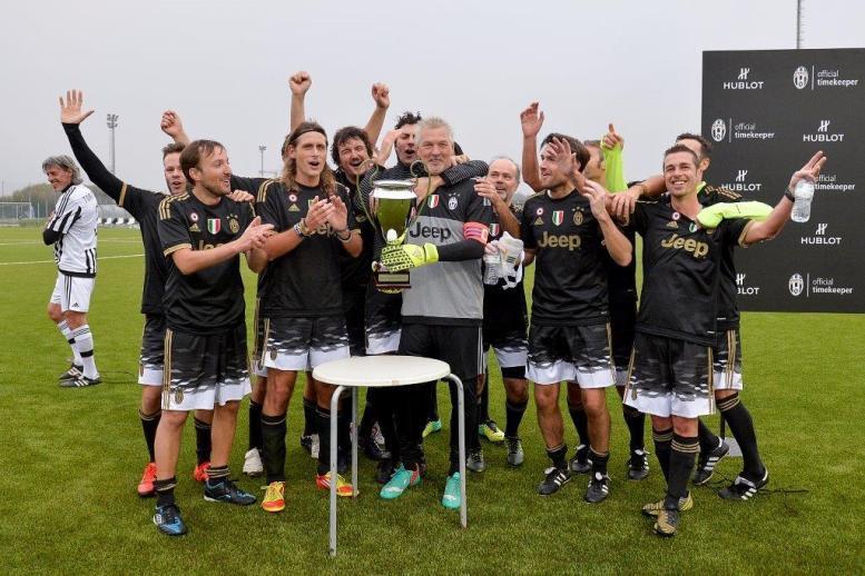 The winning team ©LaPresse