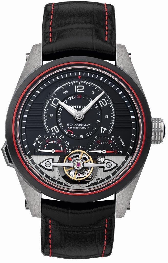 112587 Montre Montblanc TimeWalker ExoTourbillon Minute Chronograph LE 100 (2)