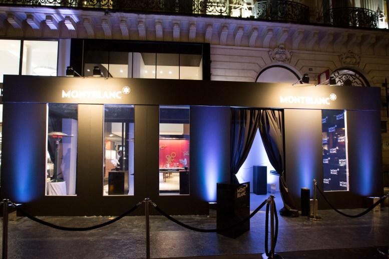 - Exclu - Inauguration du Nouveau Concept Boutique Montblanc designé par Noé Duchaufour-Lawrence, Bd des Capucines à Paris le 14 janvier 2016.