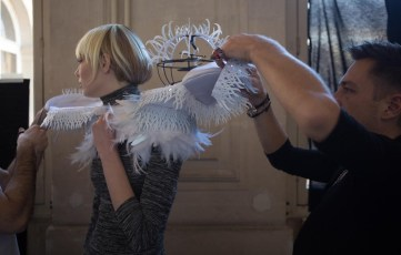 Backstage ON AURA TOUT VU couture photos by emmanuel sarnin (19)