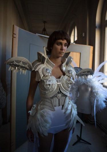 Backstage ON AURA TOUT VU couture photos by emmanuel sarnin (40)