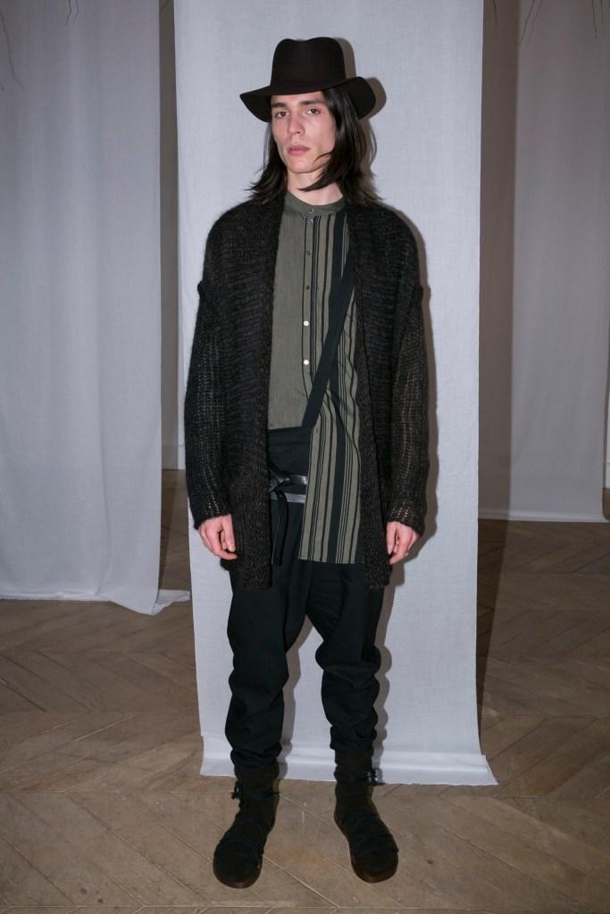 Paris Fashion Week – Homme AH 2016-2017: Présentation Isabel Benenato