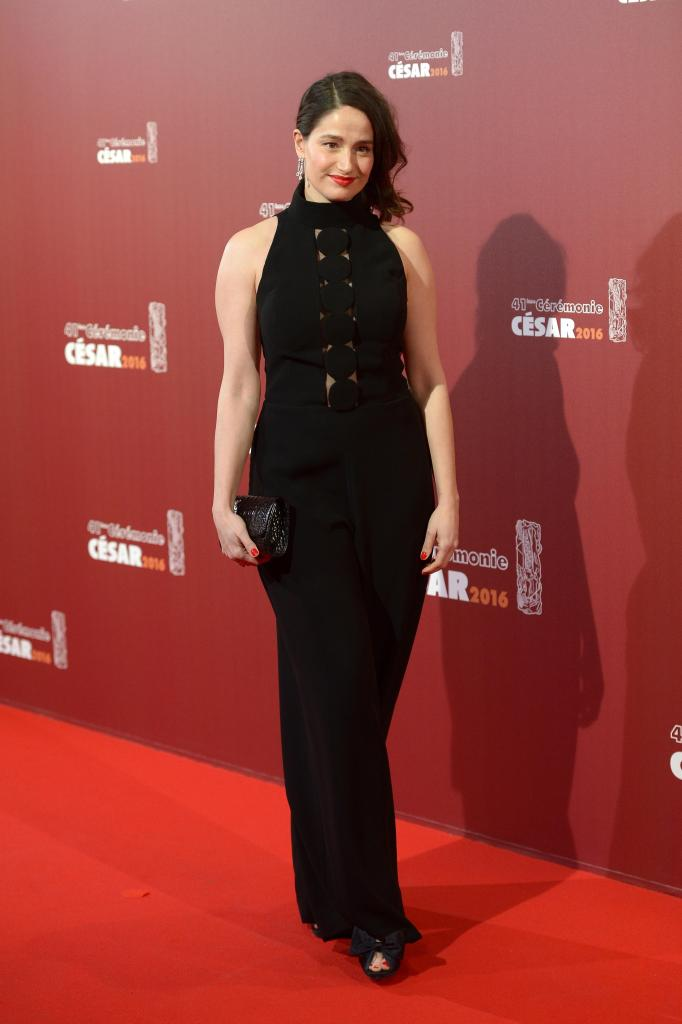 arrives at The Cesar Film Awards 2016 at Theatre du Chatelet on February 26, 2016 in Paris, France.