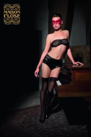 Chambre des Secrets bandeau et culotte taille haute copie