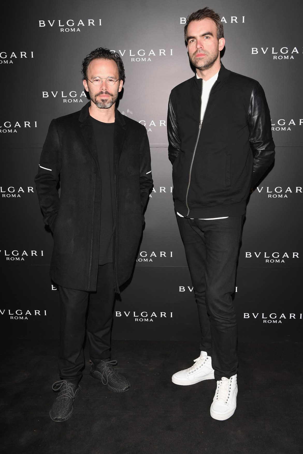 MILAN, ITALY - APRIL 12: Daniel Arsham and Alex Mustonen attend BVLGARI Celebration of B.Zero1 At Milan Design Week at Hotel Bulgari on April 12, 2016 in Milan, Italy.  (Photo by Venturelli/Getty Images for BVLGARI) *** Local Caption *** Daniel Arsham;Alex Mustonen