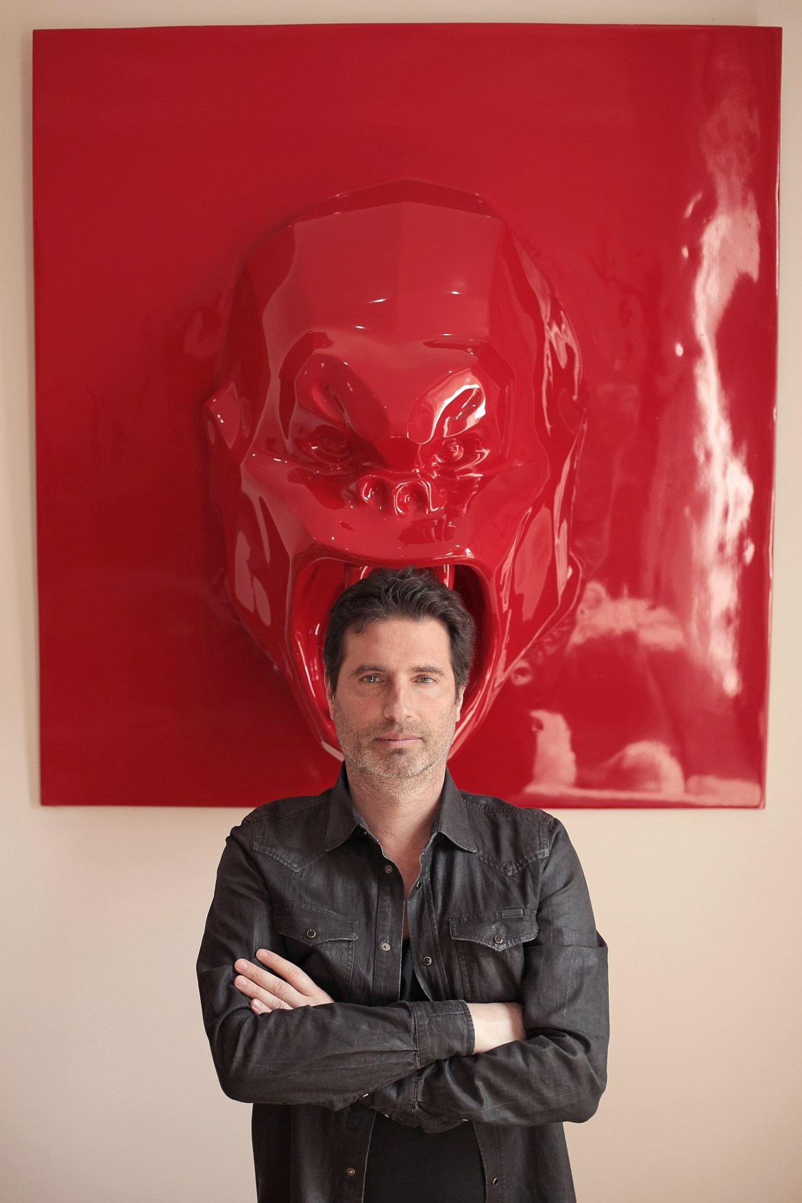 Richard Orlinski _ Portrait © Hamza Djenat