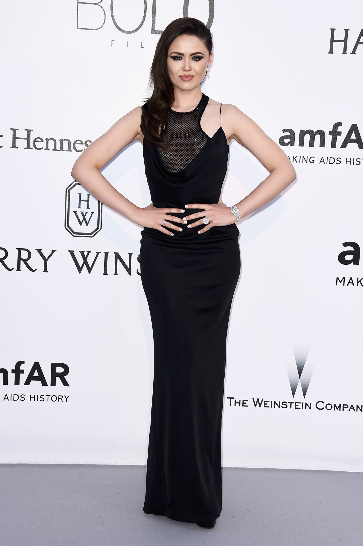 CAP D'ANTIBES, FRANCE - MAY 19: Kristina Bazan arrives at amfAR's 23rd Cinema Against AIDS Gala at Hotel du Cap-Eden-Roc on May 19, 2016 in Cap d'Antibes, France. (Photo by Ian Gavan/Getty Images)
