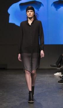 MONTREAL, QUE.: APRIL 6, 2016 -- Jennifer Glasgow au Fashion Preview à l'Agora Hydro Québec à Montreal, Wednesday April 6, 2016. PHOTO: Vincenzo D'Alto / BUREAU DE LA MODE