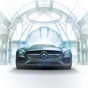 Mercedes-Benz s'installe au Grand Palais vitesse grand V