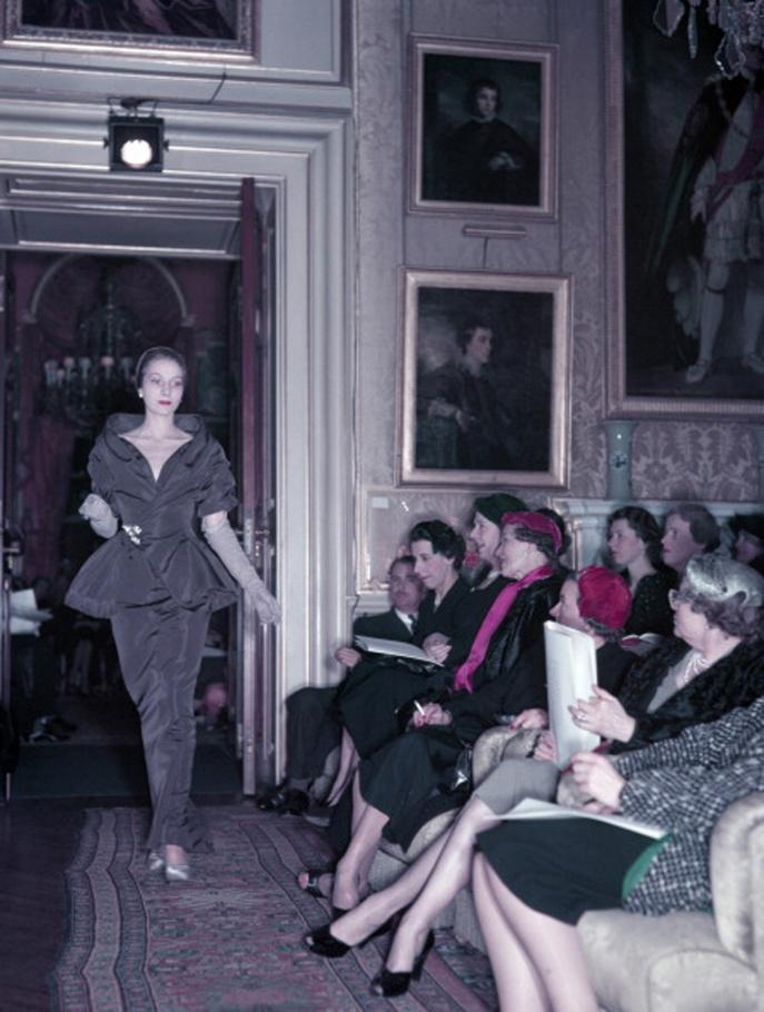 Dior, Blenheim en 1954