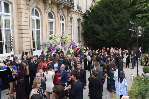 PARIS, FRANCE - JULY 05: A general view of the reception during the Bulgari Celebration of Magnificent Inspirations, The New High Jewellery Collection during Paris Haute Couture at the Italian Embassy on July 5, 2016 in Paris, France. (Photo by Venturelli/Getty Images for Bvlgari)