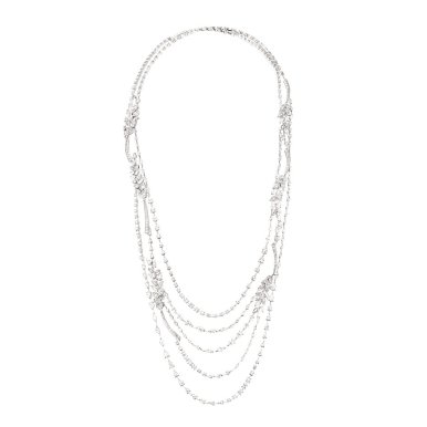 COLLIER BRINS DE DIAMANTS LG Fond blanc
