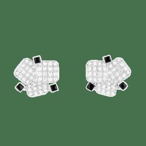 Damier Cabochon earrings