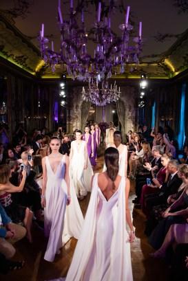 Models.. Bulgari Haute Couture. Paris. Italian Embassy. 07/2016 © david atlan