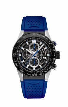 2. CARRERA HEUER-01 NEW VERSIONS 2016_PHOTOS_CAR2A1T.FT6052 BLUE RUBBER STRAP 2016