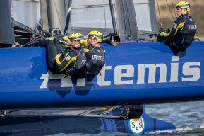 Artemis Racing. 29th of August, 2015, Gothenburg, Sweden
