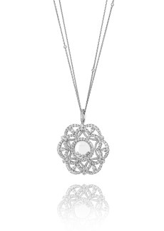 Happy Diamonds pendant - 2 - short 799474-1001