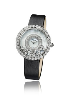 Happy Diamonds watch - 5 - round - 204445-1001