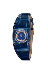 Hermes_Higlights Baselworld 2016_Faubourg Manchette Joaillerie_Pictures_Products_Faubourg Manchette Joaillerie_lapis lazuli_sapphire blue alligator®Calitho