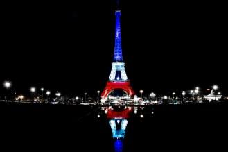 Paris de nuit Bleu blanc Rouge