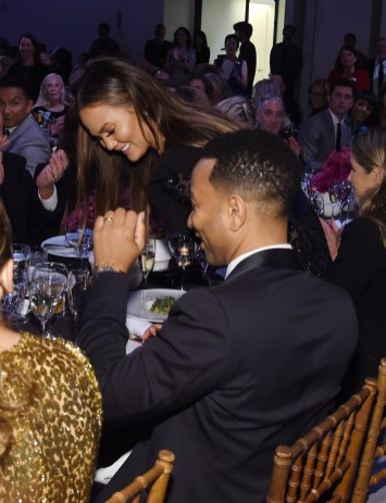 NEW YORK, NY - OCTOBER 17: Chrissy Teigen and John Legend attend the God's Love We Deliver Golden Heart Awards on October 17, 2016 in New York City. (Photo by Larry Busacca/Getty Images for Michael Kors)