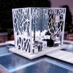 Belvedere – Le Jardin d'Hiver au Royal Monceau – Raffles Paris
