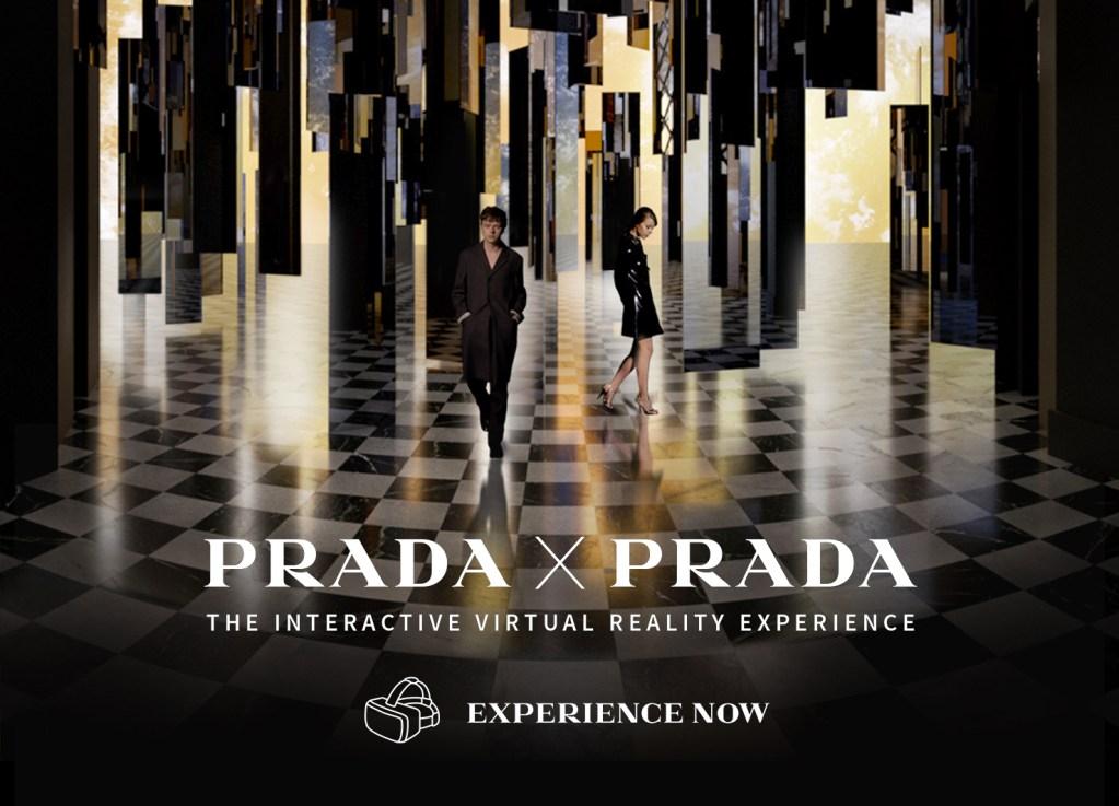 Prada lance avec Mazarine sa 1ère expérience en réalité virtuelle