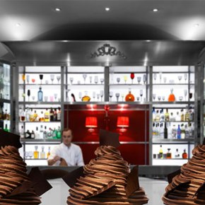Bar Chocolat Pierre Hermé Paris au Royal Monceau – Raffles Paris!