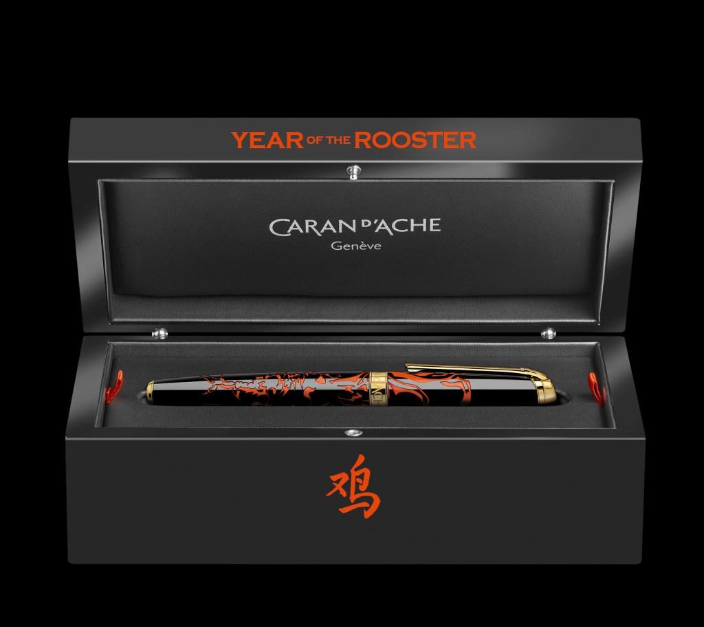 Caran d'Ache présente son Édition Limitée «Year of the Rooster», et célèbre l'année chinoise du coq